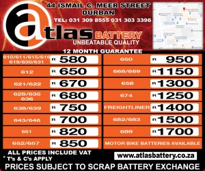 Atlas Battery